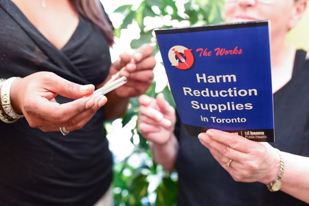 Harm Reduction supplies in toronto