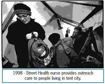 Street Heath nurse provides outreach