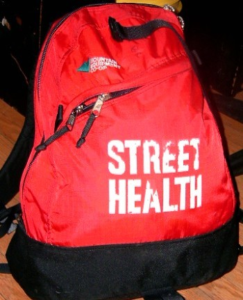 street Health back pack